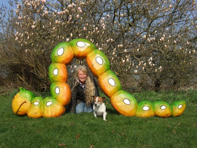 Caterpillar Playground Garden Sculpture Schools