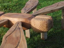 Dragonfly Play Sculpture
