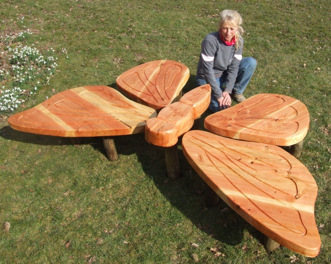Schools/Playtime : Childrens Outdoor Seating & Tables : Butterfly Play Sculpture