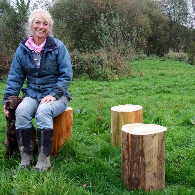 Outdoor Log Seats Schools Playtime Find Childrens
