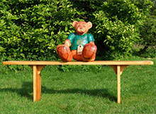 Teddy Bear Buddy Bench