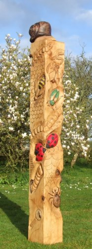 Bug Totem in Oak
