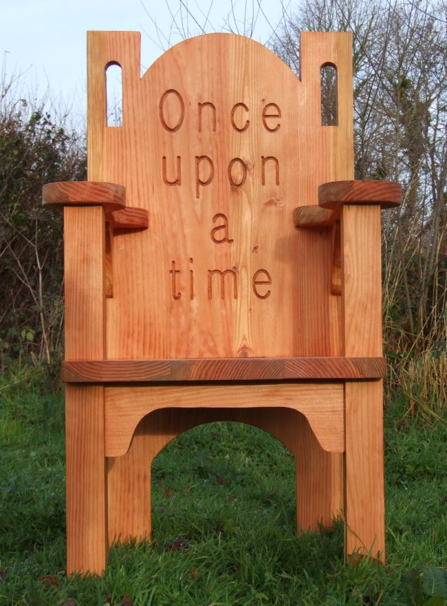 Schools/Playtime : Story Telling Chairs : Storytelling Throne