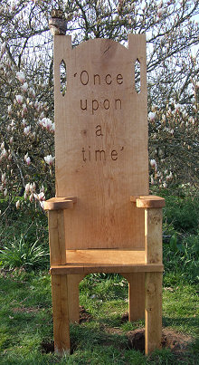 Oak Story Telling Chair