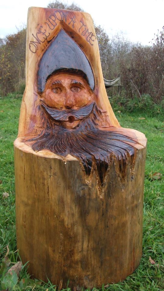 Schools/Playtime : Story Telling Chairs : Wise Man Storytelling Chair