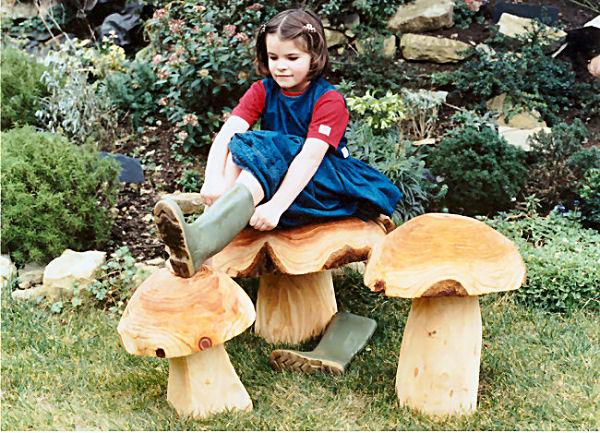 Garden Seating Mushrooms Garden Sculpture Find Mushroom