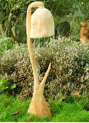 Garden Sculpture : Garden Sculpture   Other : Harebell Garden Feature