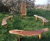Children's School Playground/Garden Oak Story Telling Bench